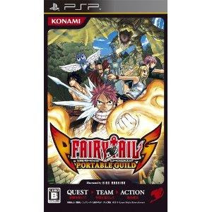 PSP Fairy Tail Portable Guild
