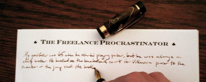 The Freelance Procrastinator