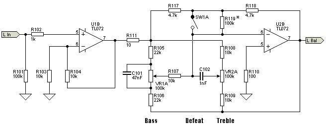Electronic Entertainment Box: Hi-Fi Pre-Amplifier with Bass Treble ...