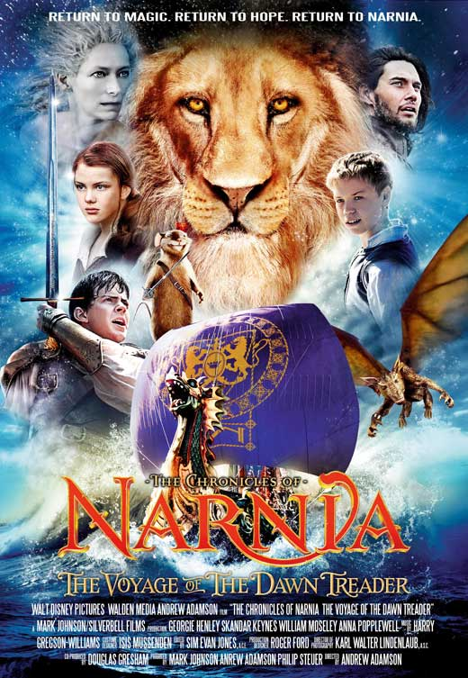 The Chronicles of Narnia: The Voyage of the Dawn Treader full movie