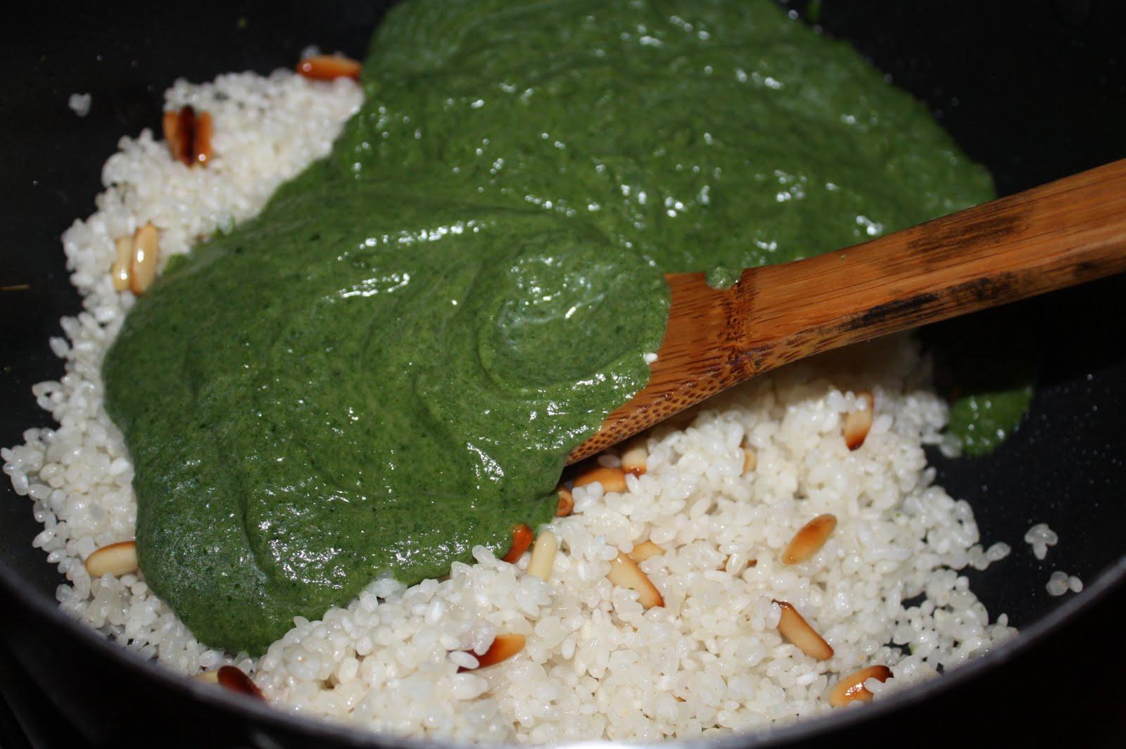 Ispanaklı pirinç tarifi