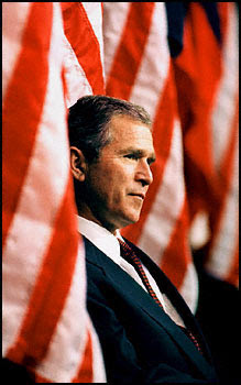 Bush Job Approval Rating Up 5 Percentage Points