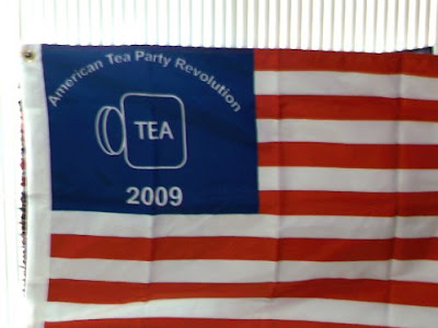tea party american flag