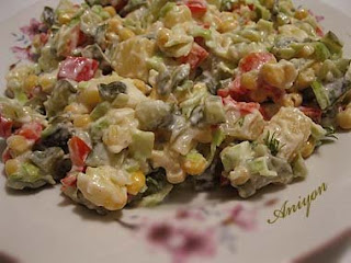 Gourmet recipes - Winter salad