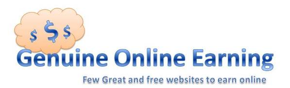 Genuine Online Earning