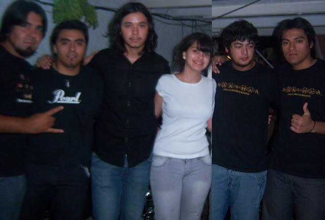 Antonella y el grupo ALKIMIA en el Festival de Baradero 2010