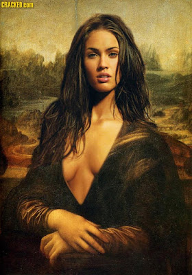 Megan Fox as Mona Lisa