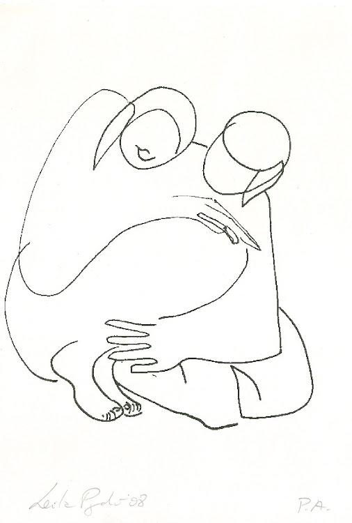 Desenho oferecido pela Leila