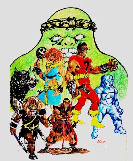 Heroes Of The last Q®  By Van Stone