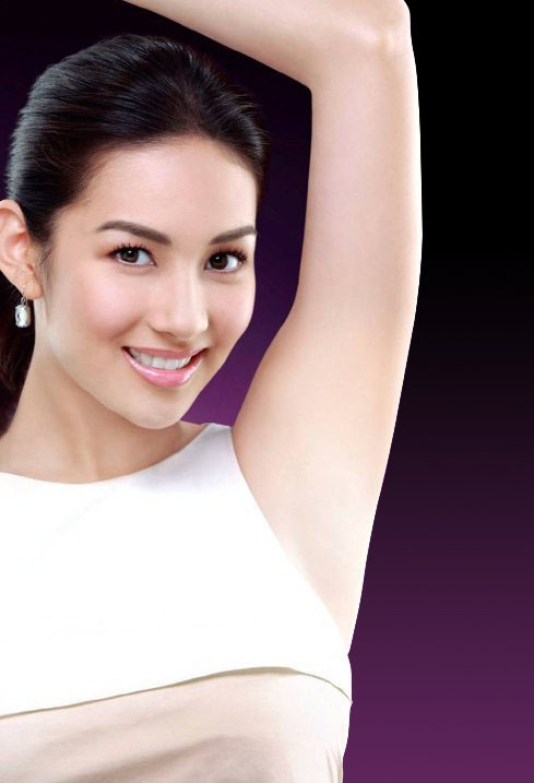 how to clean dark underarms