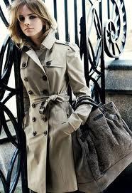 burberry beauty trench coat emma watson