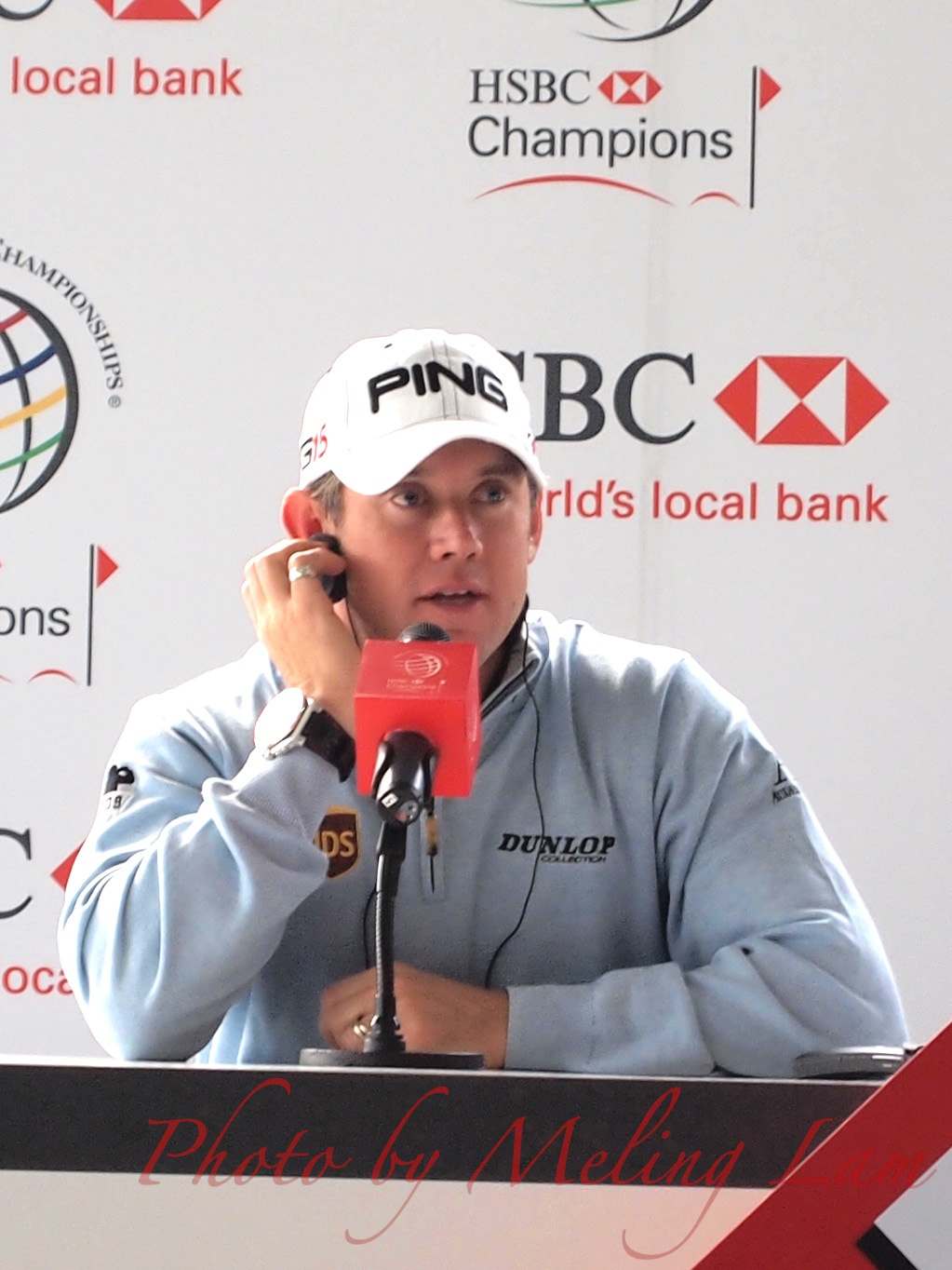 lee westwood wgc-hsbc golf champions pro-am Competition shanghai sheshan