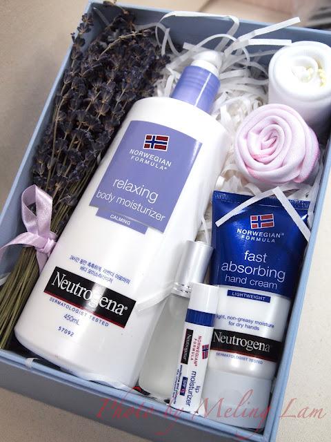 neutrogena body lotion lavender