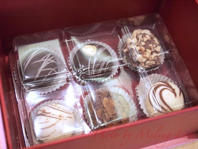 haagen dazs love me valentine's day ice cream chocolate truffles j'aime gift box 情人節 手造雪糕朱古力禮盒