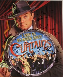 You May Recall My Bond With Curtains, The First Musical I Saw On Broadway.  Not Only Did I Love The Show But I Had A Great Time Meeting The Gracious  Cast, ...