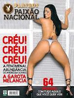 Playboy: Mulher Melancia - Andressa Soares - Abril 2008 - Capa