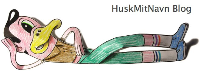The HuskMitNavn Blog