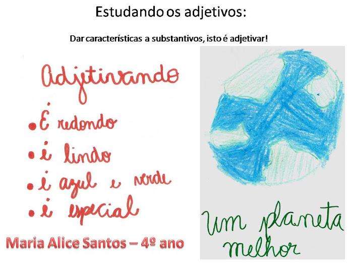 Português criativo: Adjetivos