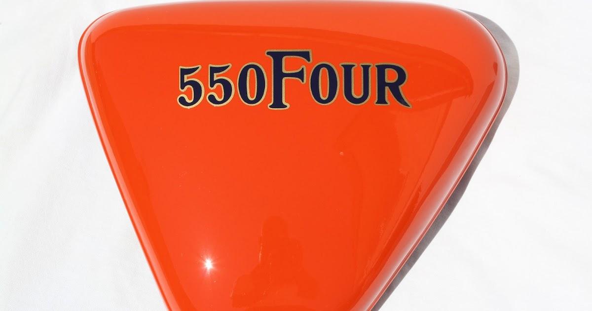 croco deco moto honda 550 four orange super sport f1 1976. Black Bedroom Furniture Sets. Home Design Ideas