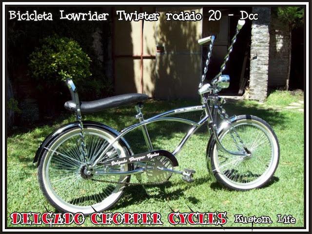 Bicicleta Lowrider Twister - rodado 20