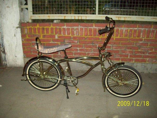 Bicicleta Lowrider Golden DCC para Pimp My Kid Palermo.
