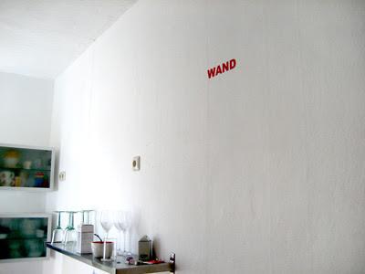 Wanddekore, Wand-Tattoos, Wall-Sticker und solche Sachen gibt's bei