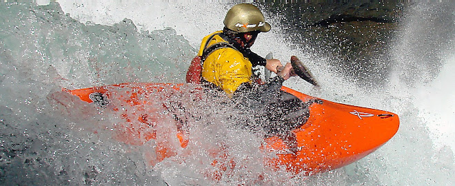 kayak en nuestro pequeño planeta