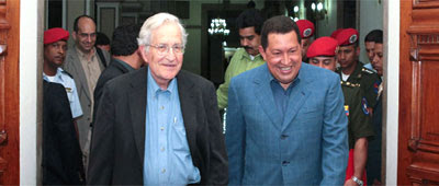 Chomsky en su salsa