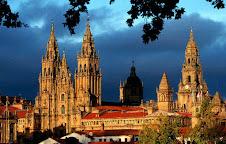 Santiago de Compostela de noite