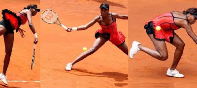 Black Tennis Pro's Venus Williams Madrid Open Semifinal