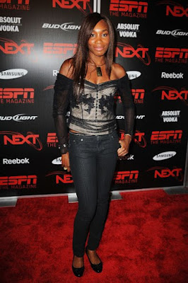 Black Tennis Pro's Venus Williams at ESPN The Magazine's Next