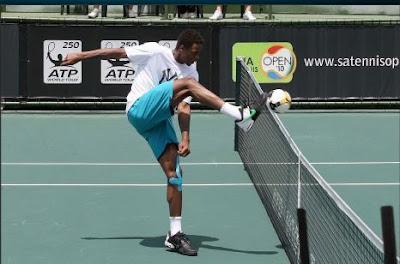 Black Tennis Pro's Gael Monfils Visits Soweto