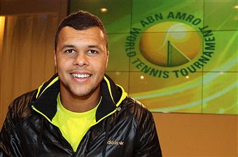 Black Tennis Pro's Jo-Wilfried Tsonga Injury Withdrawal from ABN AMRO World Tennis Tournament