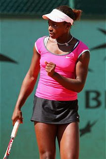 Black Tennis Pro's Sloane Stephens BNP Paribas Open