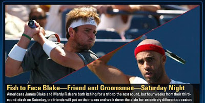 Black Tennis Pro's U.S. Open James Blake vs. Mardy Fish