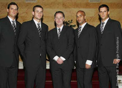 Black Tennis Pro's Davis Cup Team