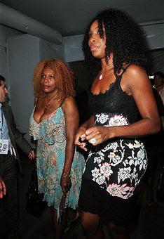 Black Tennis Pro's Venus Williams at Mercedes-Benz Fashion Week