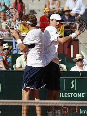 Black Tennis Pro's USA Davis Cup Doubles Semifinal