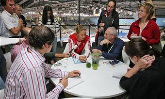 Black Tennis Pro's Porsche Tennis Grand Prix