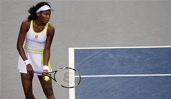 Black Tennis Pro's Venus Williams vs. Anna-Lena Groenefeld