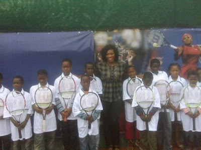 Serena Williams In Africa HP Global Ambassador