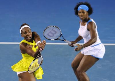 Venus and Serena Williams 2009 Australian Open Doubles Champions