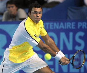 Black Tennis Pro's Jo-Wilfried Tsonga Open 13 Tournament