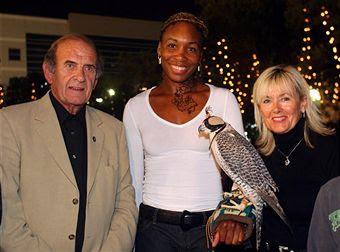 Black Tennis Pro's Venus Williams Barclays Dubai Tennis Tournament
