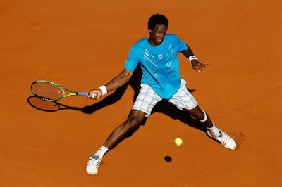 Black Tennis Pro's French Open Day 2 Gael Monfils