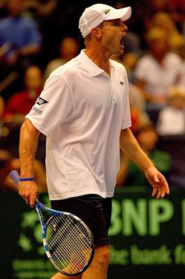 Black Tennis Pro's Andy Roddick 2009 Davis Cup