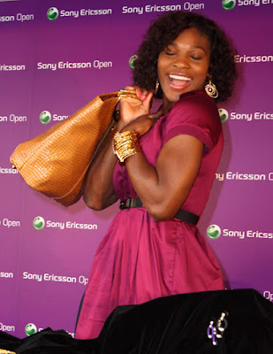 Black Tennis Pro's Serena Williams Signature Statement at Home Shopping Network