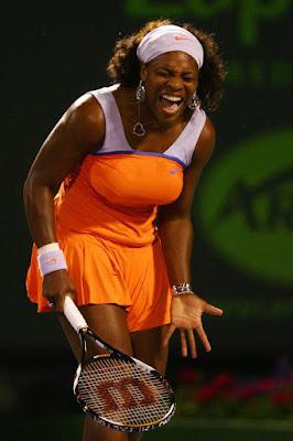 Black Tennis Pro's Serena Williams Sony Ericsson Open