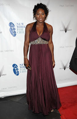 Black Tennis Pro's Serena Williams at the 6th Annual New Yorkers for Children Spring Dinner Dance