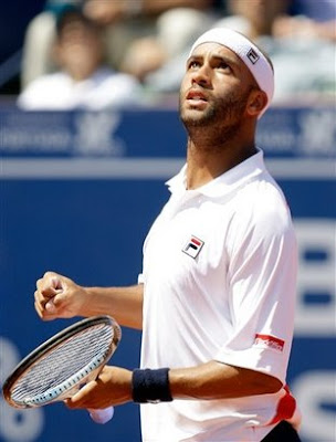 Black Tennis Pro's James Blake Estoril Open